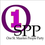 One St Maarten People Party logo
